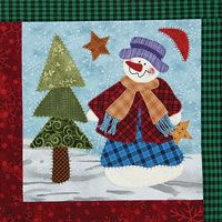 8 Snowman Quilt Patterns | Snowman, Window and Patterns : snowman quilt patterns applique - Adamdwight.com