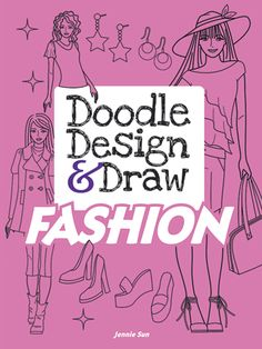 Chock-full of sophisticated and trendy images, this doodle book encourages…