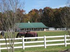 Weddington...known for its horse farms.