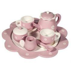 Set de ceai jucarie Frida Trademan de lemn