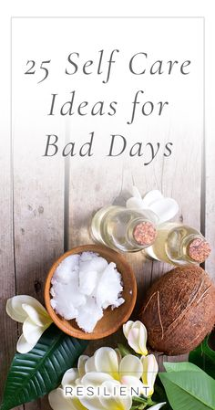 When bad days strike, it's nice to have a list of self care ideas you can pull out to help make things a little better, or even to proactively keep up with self care so you feel better in general. Here are 25 self care ideas for bad days. Feel free to boo Depressing Songs, Self Care Activities, Self Acceptance, Love Tips, Bad Day, Self Care Routine, Health And Wellness, Mental Health, Health Advice