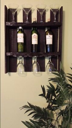 I Love My Wine Rack I Did Out Of A Pallet!