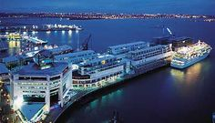 Princes Wharf, Auckland City, New Zealand.
