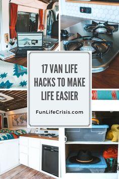 Living On The Road, Rv Living, Campervan Hacks, Build A Camper Van, Tin Can Tourist, Mobile Living, Camper Van Conversion Diy, Van Life, Motorhome