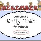 Here's another month of Common Core Daily Math fun for your second graders. December's edition adds more of the Common Core standards your students...