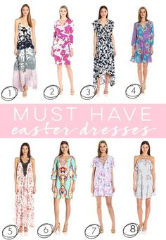 Celebrate Easter in style with one of these gorgeous Easter dresses!