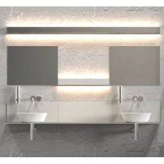Lampe salle de bain - Applique IP S16 IP44 - Blanc