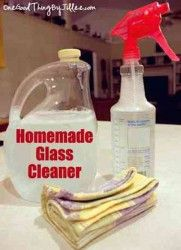 Simple Glass Cleaners For Sparkling Windows And Mirrors