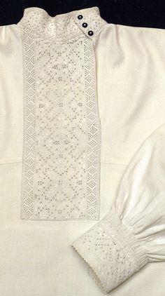 FolkCostume&Embroidery: Whitework embroidery of Vinnytsia region, East Podillia, Ukraine