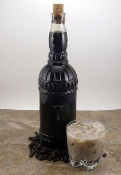 Homemade Coffee Liqueur | http://www.goodcocktails.com/liqueur_recipes/coffee_liqueur_recipe.php