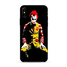 Mc Donalds Poster iPhone XR 3D Case - Glossy