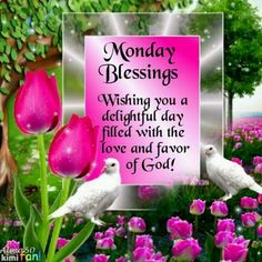 MONDAY BLESSINGS!!!!