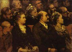 Honoré Daumier >> French Theatre