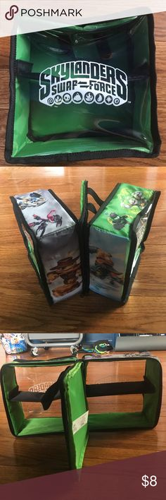 SKYLANDERS carrying case Zipper case to hold skylanders Skylanders Other