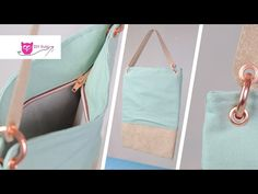 Recyceltes Leder: Materialtest und Anleitung Tasche aus ReLeda – DIY Eule - YouTube