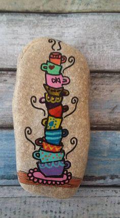 Rock Art: Coffee and Tea Cups