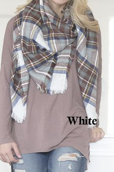Festive Blanket Scarf