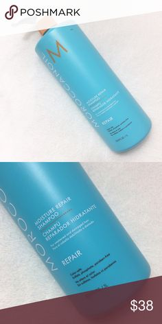 Moroccan Oil Moisture Repair Shampoo Moroccan Oil Moisture Repair Shampoo 33.8 oz. It has never been used or opened. I'm not interested in trading. Thanks for stopping by! Bundle 2 or more items and save 15%. Please no Lowball offers. Other
