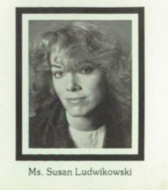 Miss Lud Riverside Science Teacher 1986