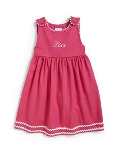 Princess Linens Little Girl's Personalized Dress - Pink Kids Wear, Children Wear, Saks Fifth Avenue, Kind Mode, Little Girls, Kids Fashion, Linens, Summer Dresses, Princess