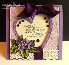 ODBDSLC191  Secret Admirer- Case someone you admire or a card you always wanted to case  Stamps - Our Daily Bread Designs Scripture Collection 10, The Lord Has Risen, ODBD Custom Ornate Hearts Die, ODBD Custom Beautiful Borders Dies