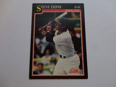 Steve Lyons 1991 Score Baseball Cards