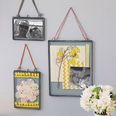 love! kiko glass frame by nkuku | notonthehighstreet.com