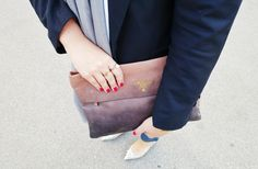 Like a Tourist Prada Clutch, Style Blog, My Style, Blazer With Jeans, Distressed Jeans, Jimmy Choo, Madewell, Tote Bag, Lifestyle