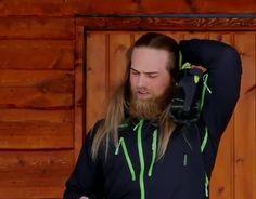 Lasse Norwegian Men, Raining Men, Vikings, Hot Guys, Childhood, Jackets, Beautiful, Fashion, Men
