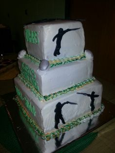 Fencing cake Fencing Sport, Fence, Birthdays, Cake, Desserts, Food, Fencing, Kochen, Pie Cake