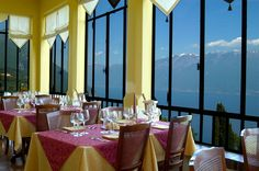 Cena romantica vista lago - lago di Garda