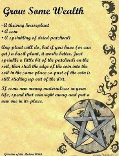 plantspells moneyspells witchcraft moneyspell brujeria magick spells witch Magick Witchcraft Spells You can find Witchcraft spells and more on our website Luck Spells, Magick Spells, Wiccan Witch, Wicca Witchcraft, Witchcraft Tattoos, Hoodoo Spells, Healing Spells, Money Spells That Work, Protection Spells