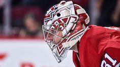 Goalie Carey Price Montreal Canadiens 2017