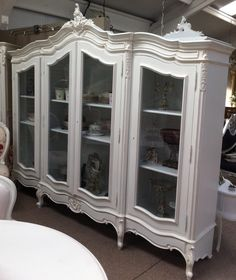 FW4999TD Provencial Triple Armoire Display  1 in stock