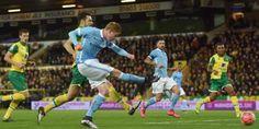 Prediksi Norwich City vs Manchester City - Liga Inggris (12 Maret 2016) - https://twitter.com/hits_berita/status/708439216628207618