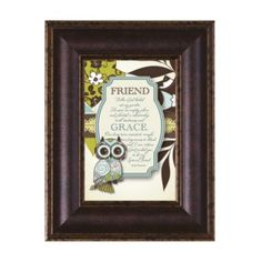 A Friendship Prayer Wall Art $29.95