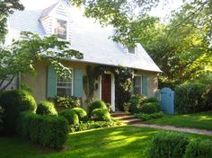 This is my little house in East Hampton.