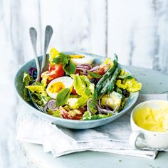 Salade niçoise mit Limettenmayo