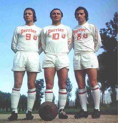 On les surnommait les 3 lutins de l'OL, Lacombe-Di Nallo-Chiesa, à eux trois ils ont marqué plus de 500 buts en compétition officielle pour Lyon