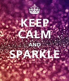 i love all things sparkly :)