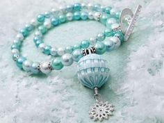 Jewelry Making Designs - Arctic Blast Necklace