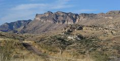 mule shoe texas 1930's photos | Galiuro Mountains at Muleshoe Ranch CMA © Betsy D. Warner/The Nature ...