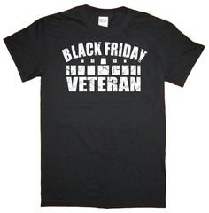 Black Friday Veteran Black T-Shirt RD-Shirt099 by RyottDesigns