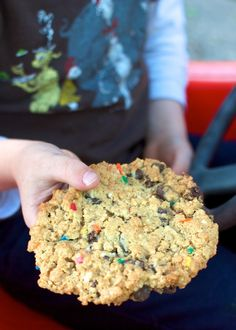 Dairy-free, Egg-Free and Nut-Free Monster Cookies!