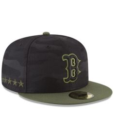 New Era Boston Red Sox Memorial Day 59FIFTY Fitted Cap - Green 7 5 8 245d67563439