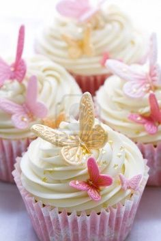 Wedding Cupcakes in different colours...