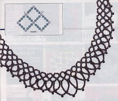 Weave a necklace of beads