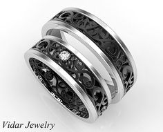 Hey, I found this really awesome Etsy listing at https://www.etsy.com/listing/286593015/his-ans-her-matching-wedding-band