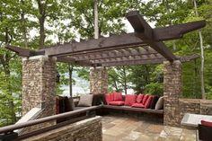 Deep Creek Lake, MD - rustic - deck - dc metro - by Lucas Associates Architects