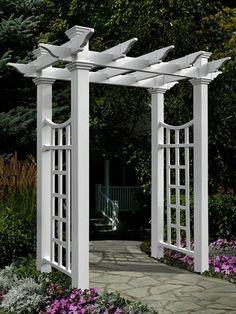 Tall Planters, Patio Planters, Square Planters, Wisteria Garden, Garden Arbor, Garden Hose, Garden Gear, Arcadia Garden, Metal Arbor
